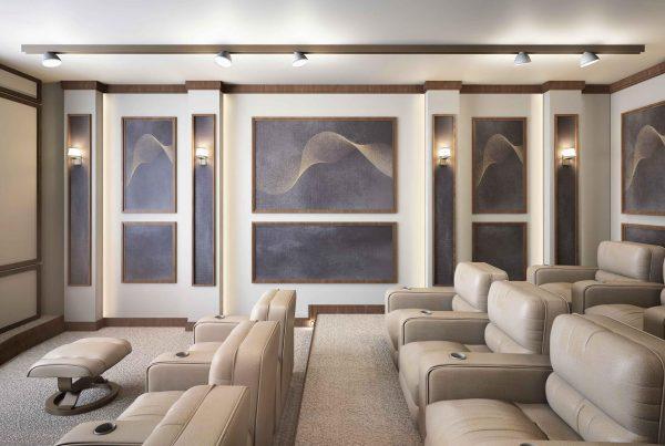 طرح اتاق سینما خصوصی طرح ذهن زیبا