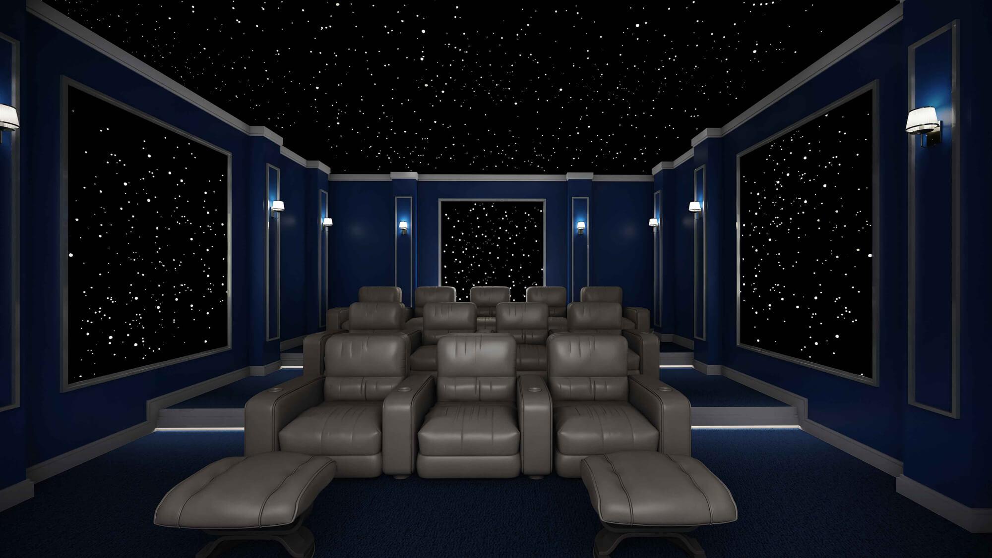 سینما خانگی طرح اینترستلار