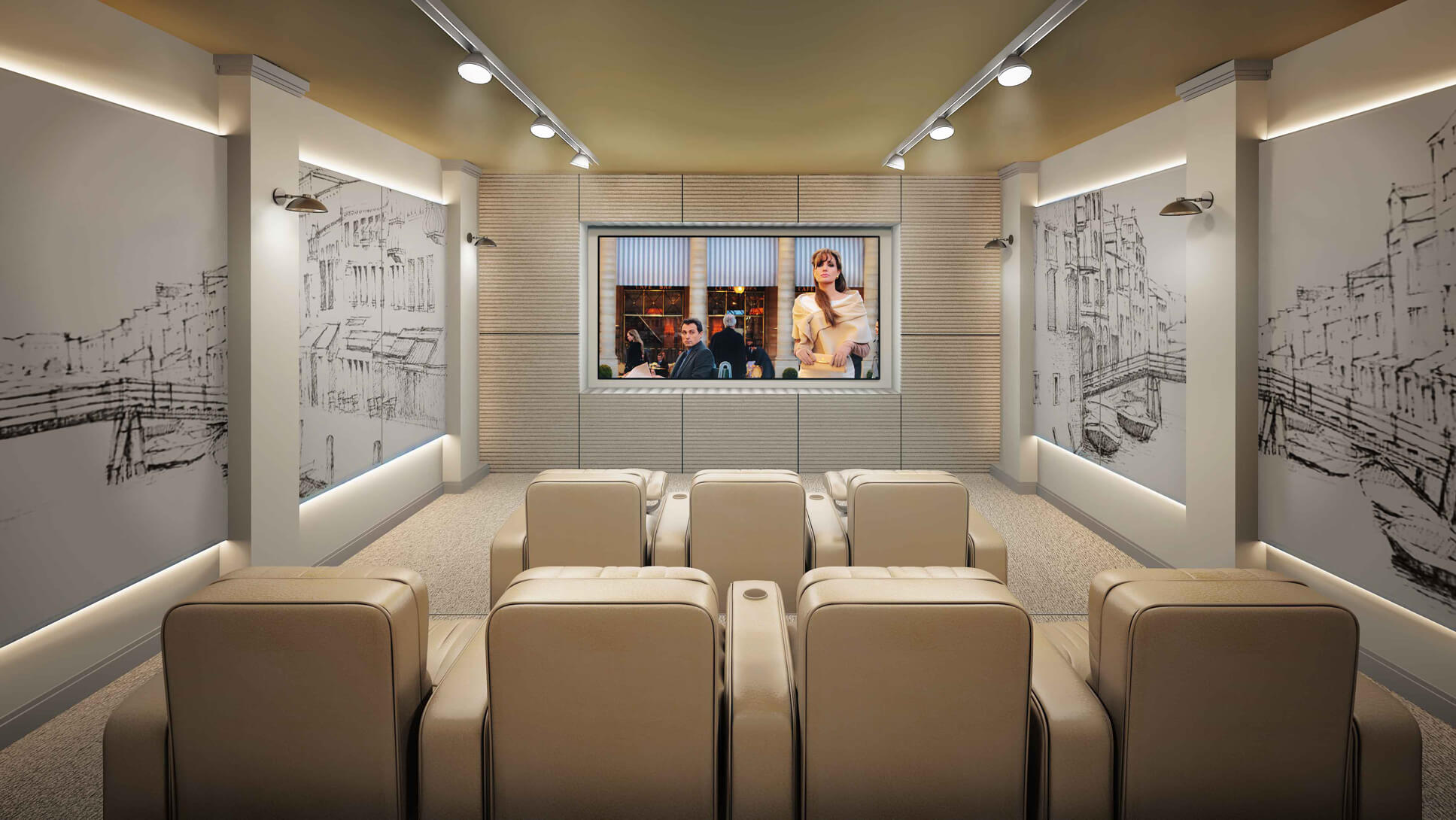 اتاق سینمای خصوصی