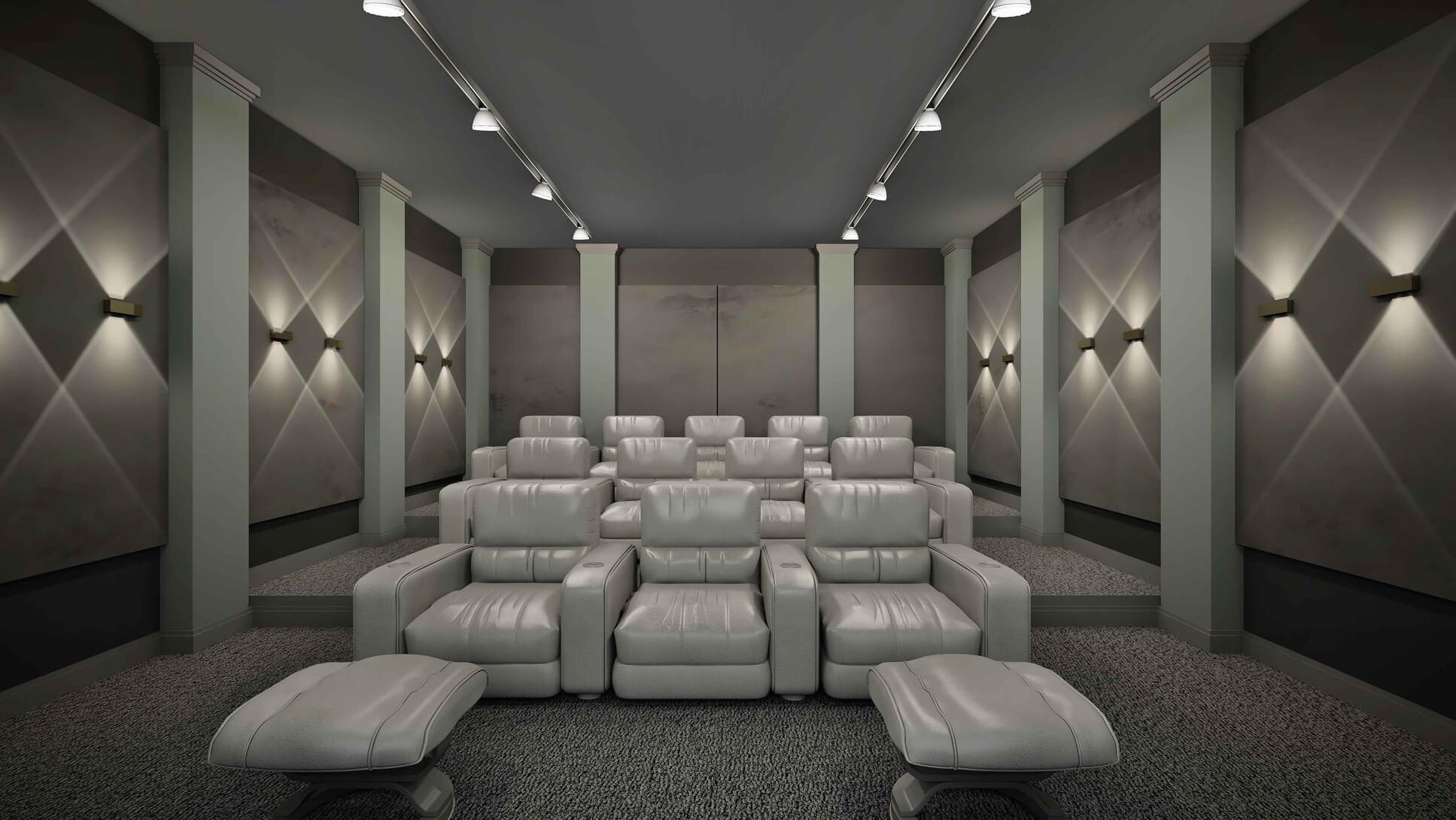 اجرای طرح اتاق سینما خانگی
