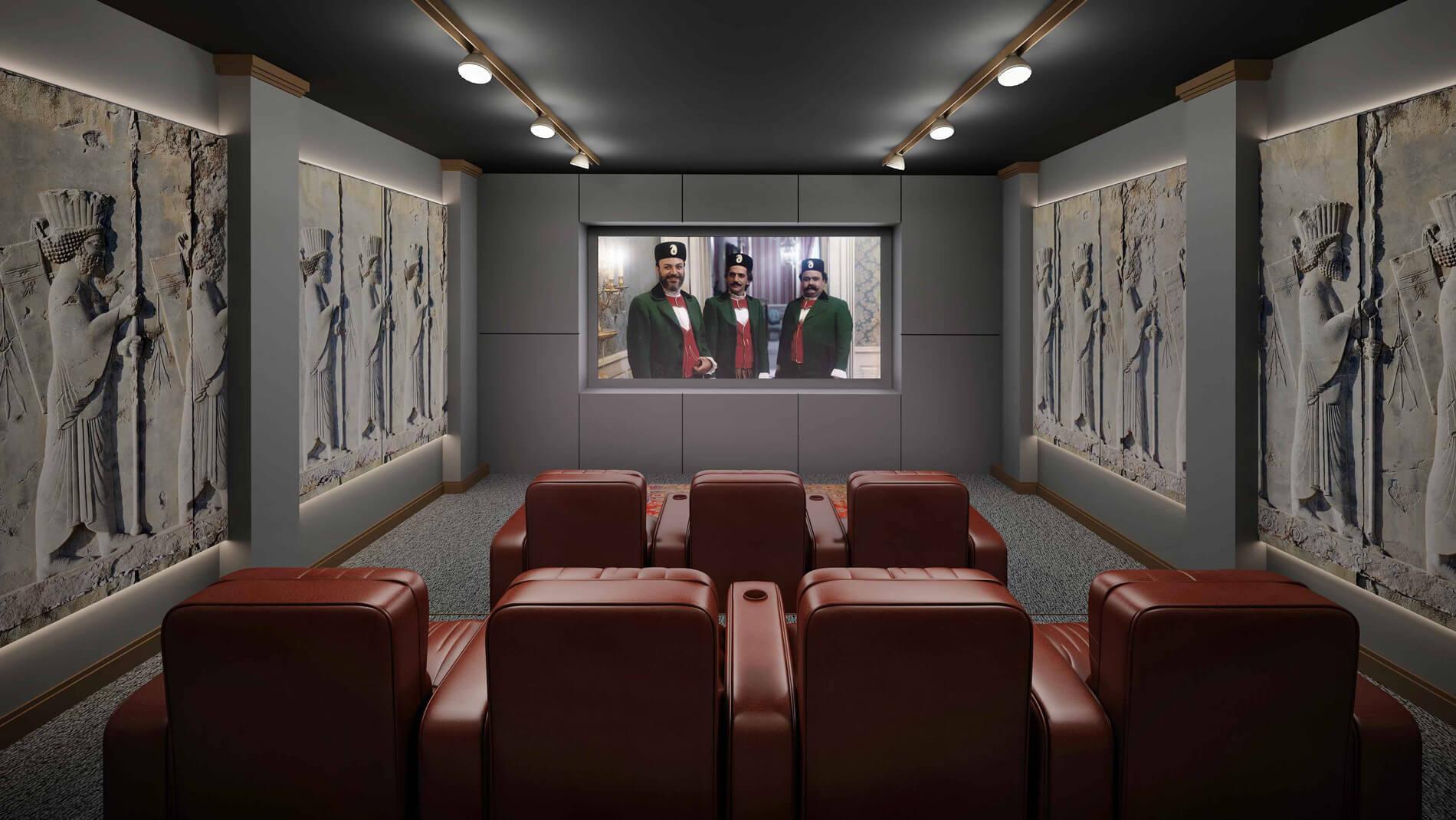 سینما خانگی انواع طرح ها