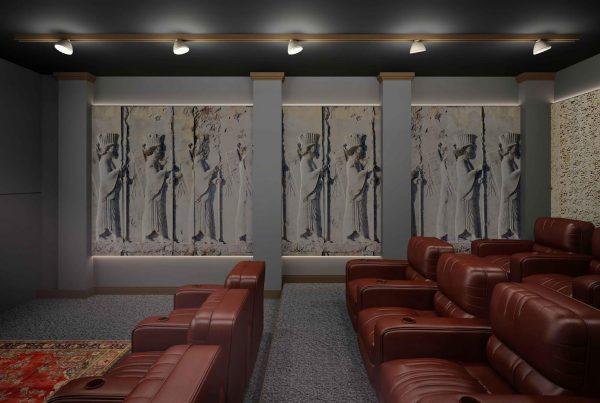 انواع طرح های سینما خصوصی