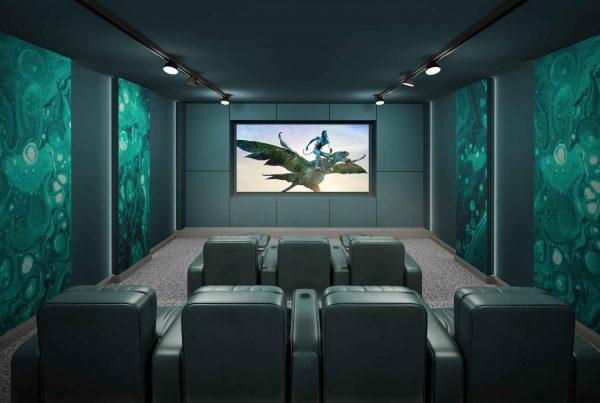 اتاق های سینمای خصوصی