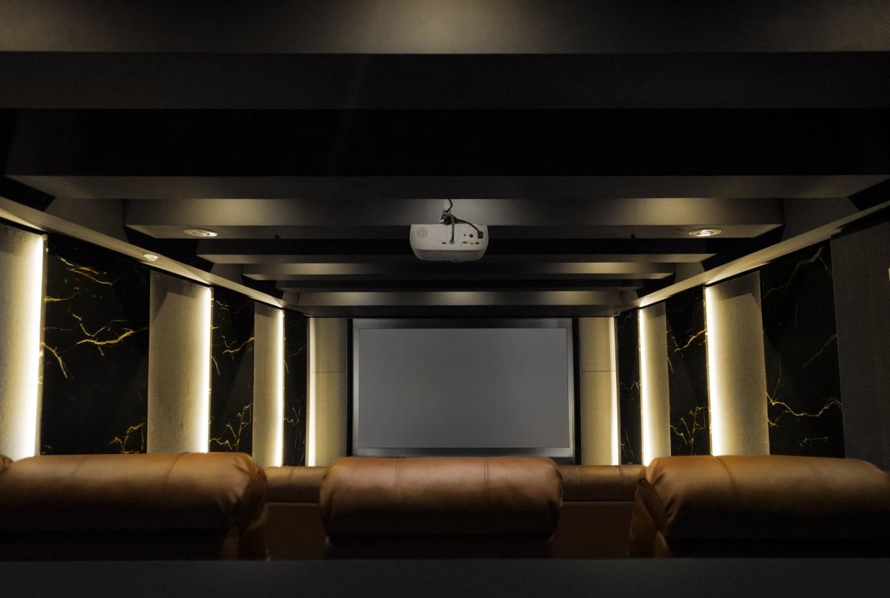 پروژه سینمای خصوصی رزتا پارک نیاوران