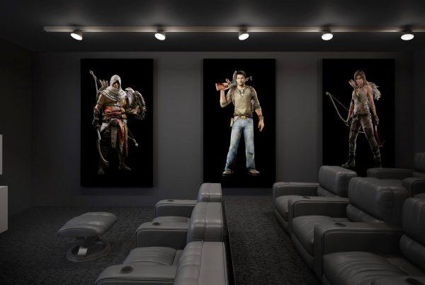 انواع دکور های سینمای خصوصی
