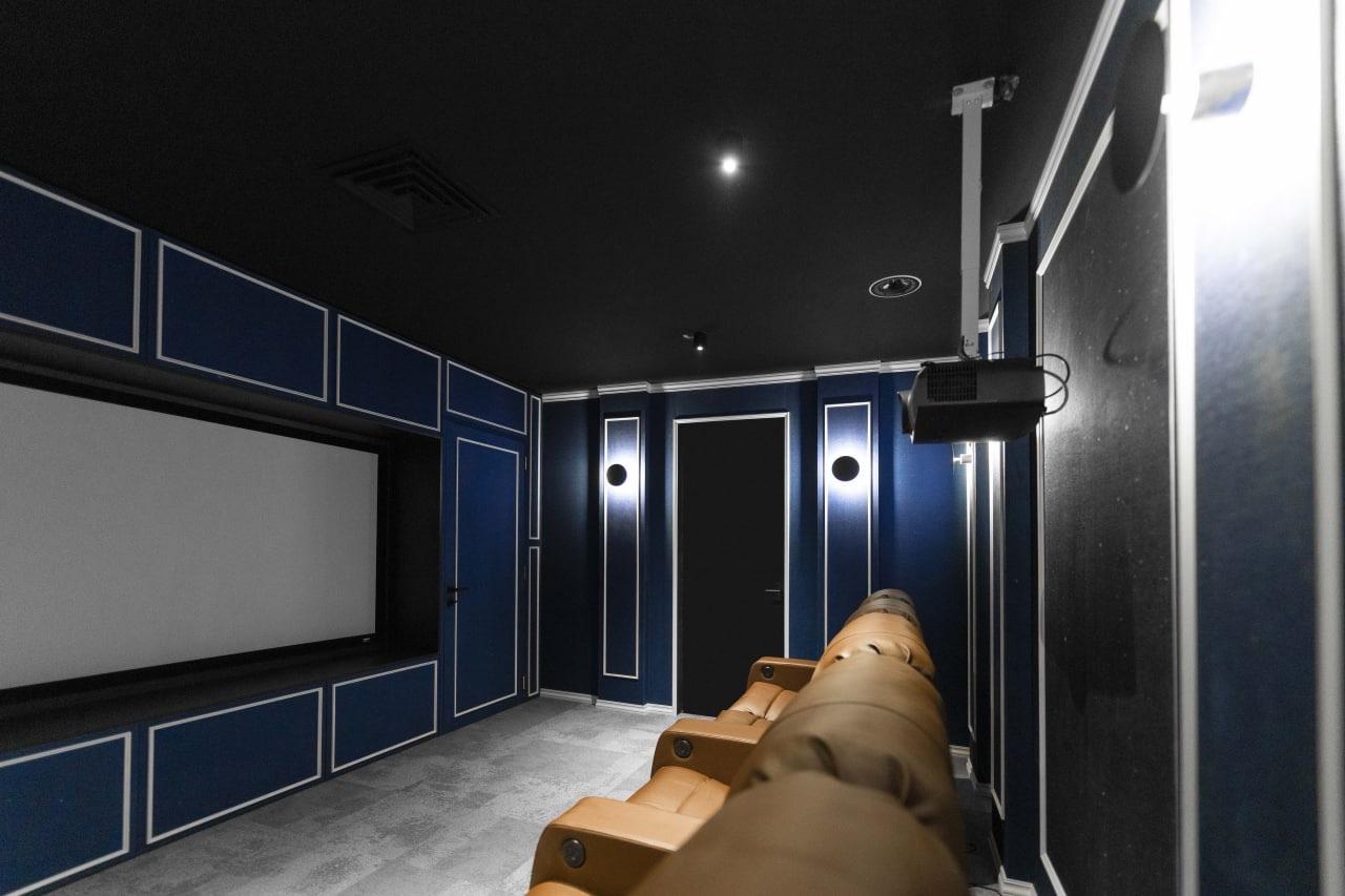 پروژهی سینما خانگی در شهرک غرب